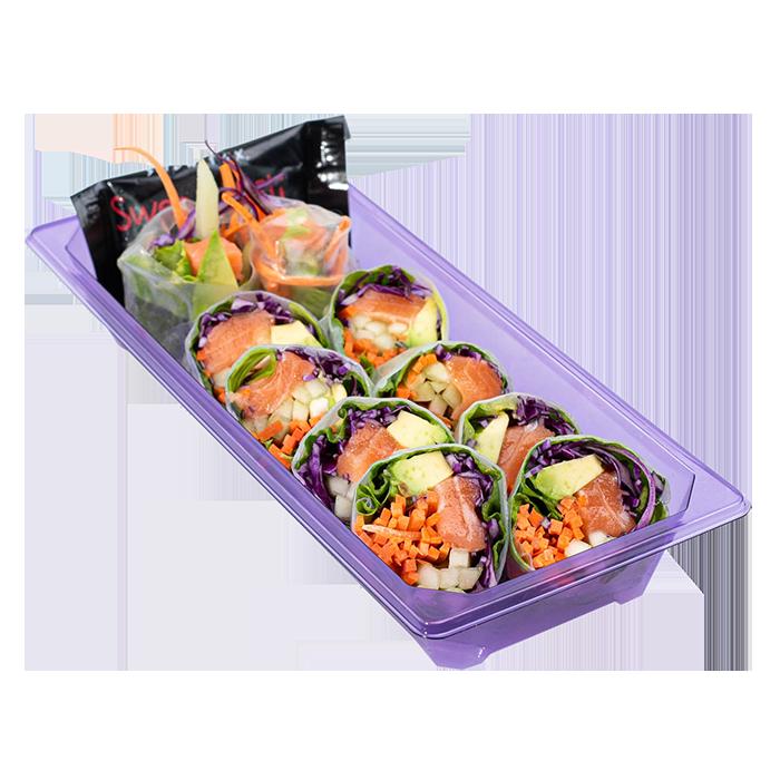 Deluxe Salmon Garden Wrap